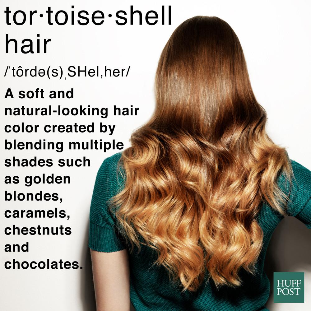 tortoise shell hair