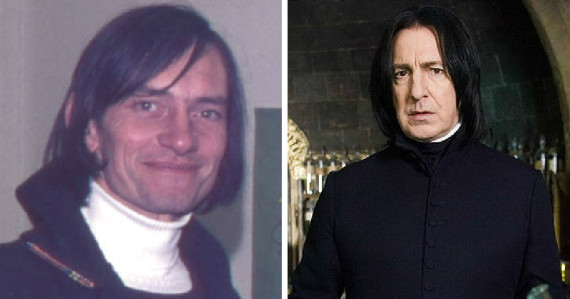 snape harry potter real