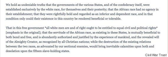 texas secession statement