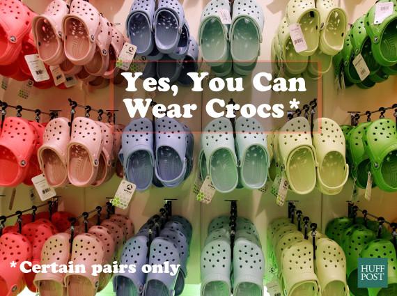 6cc0f608e5fc7 Stylish Crocs Do Exist
