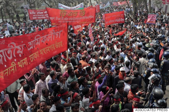bangladesh strike