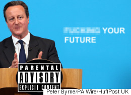 Unnecessarily Censored David Cameron Is Way More Interesting
