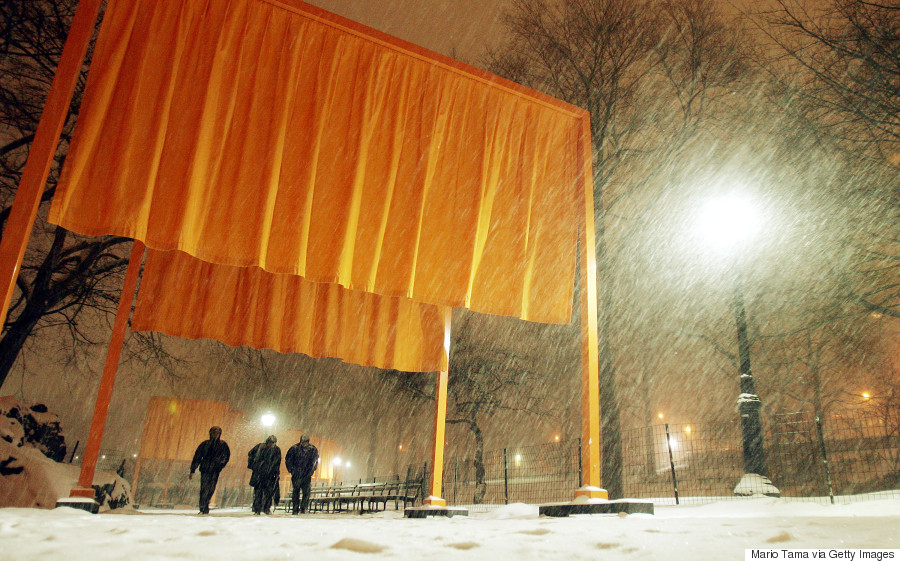 the gates christo