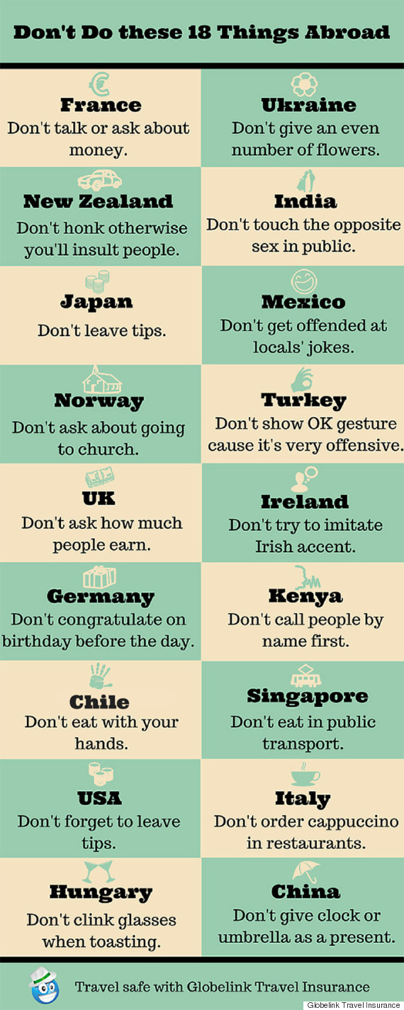 travel mistakes