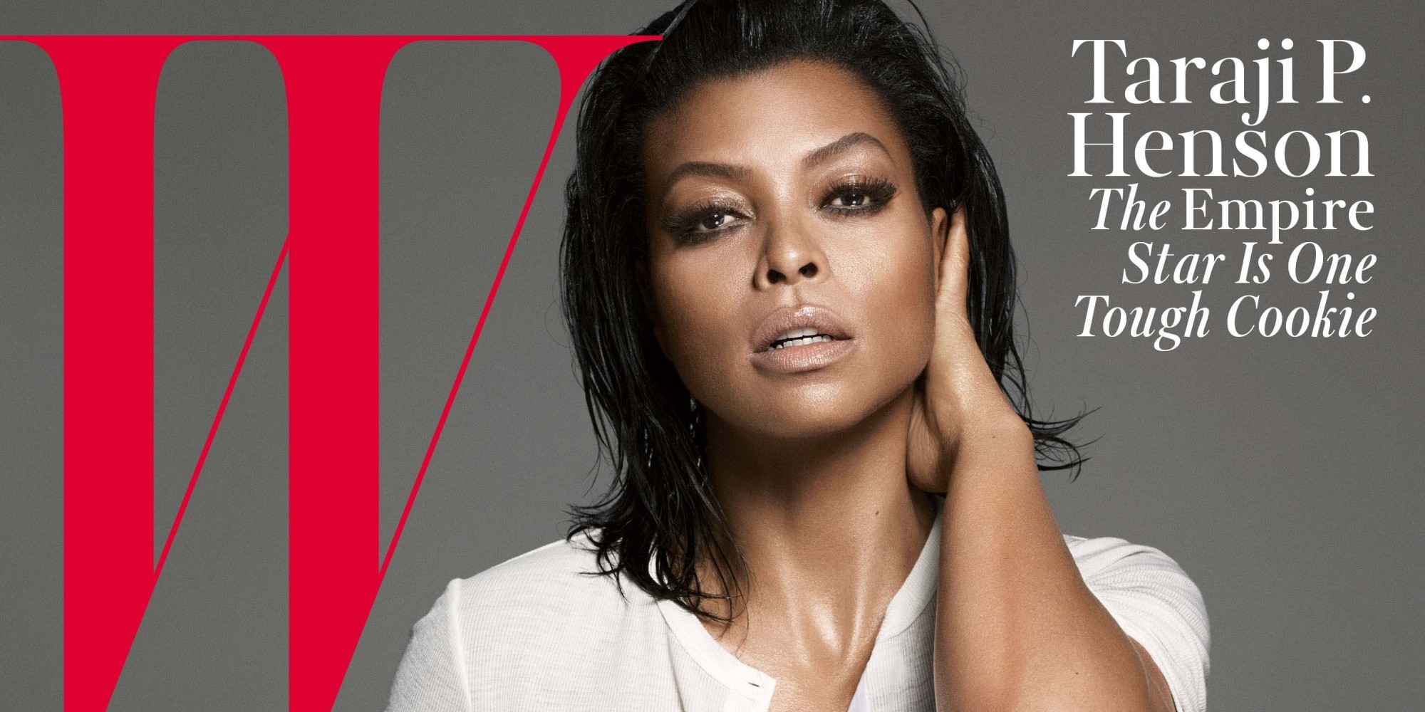 Taraji p henson graces the cover of w magazine and totally blows our