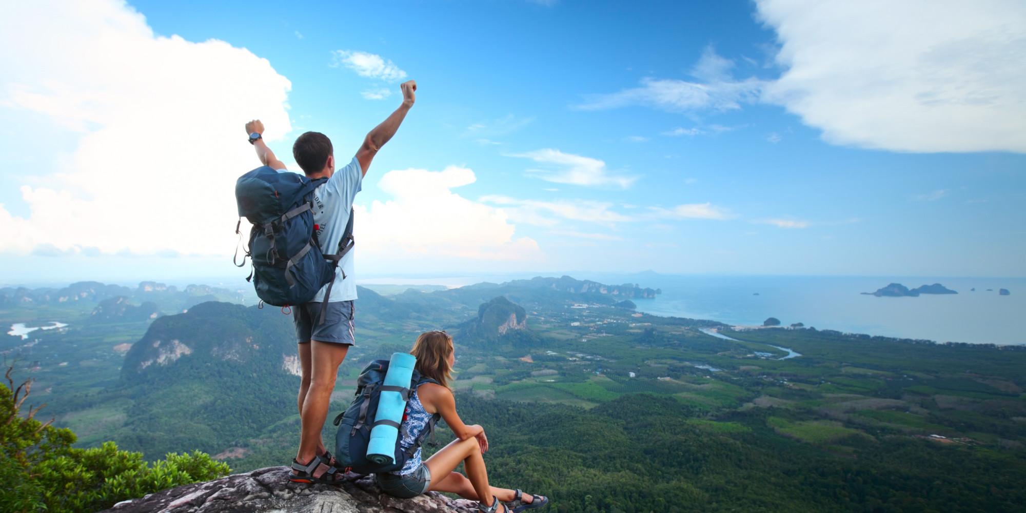 travel adventure mountain climbing