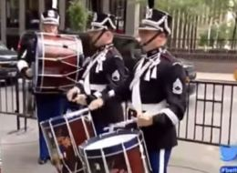 Fox News Reporter Throws Axe At Marching Band During News Report
