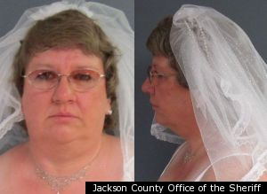 Wedding Day Mugshot: Tammy Lee Hinton Arrested Moments After Saying 'I