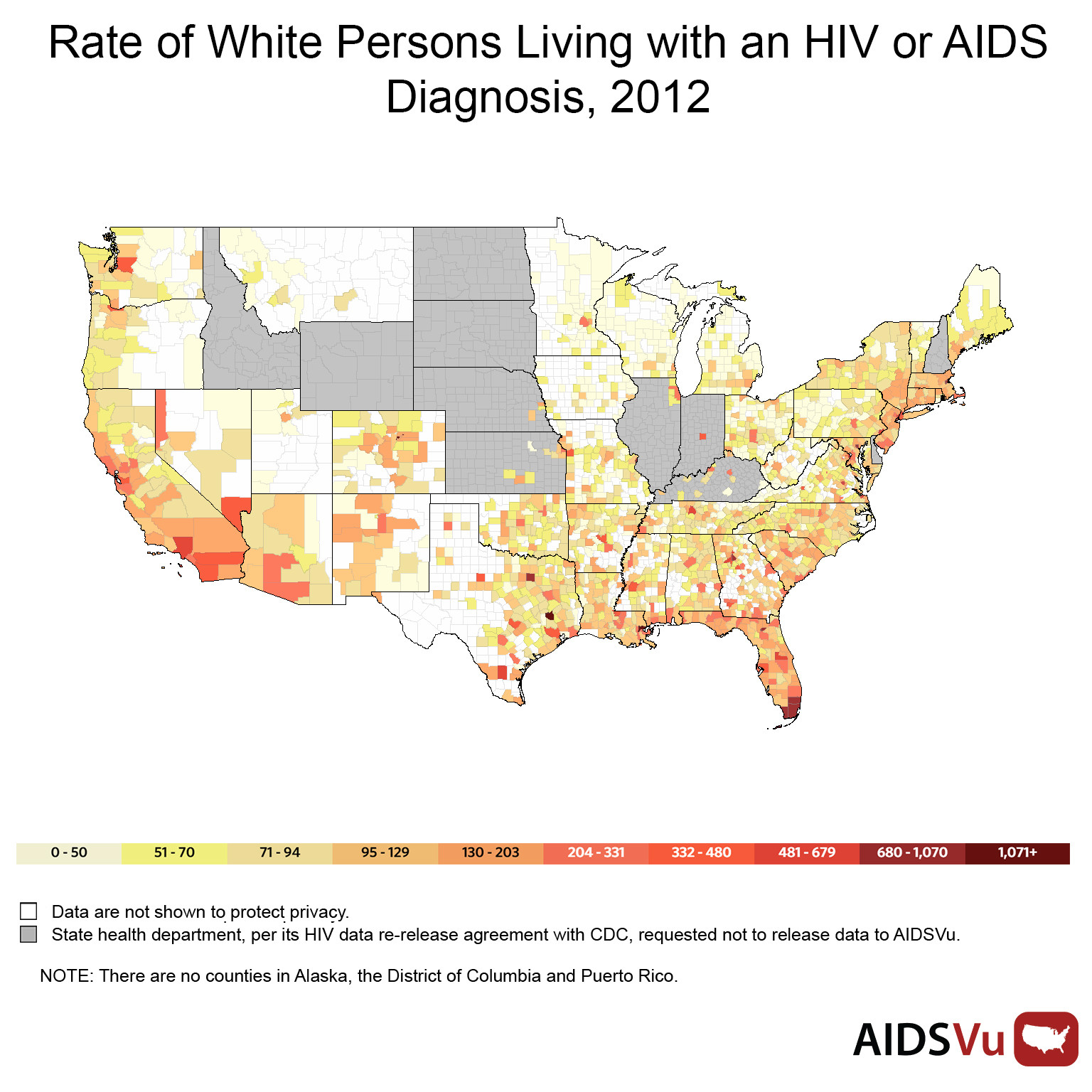 Why Getting Tested For HIV Could Help Your Whole Community HuffPost - Hiv us map