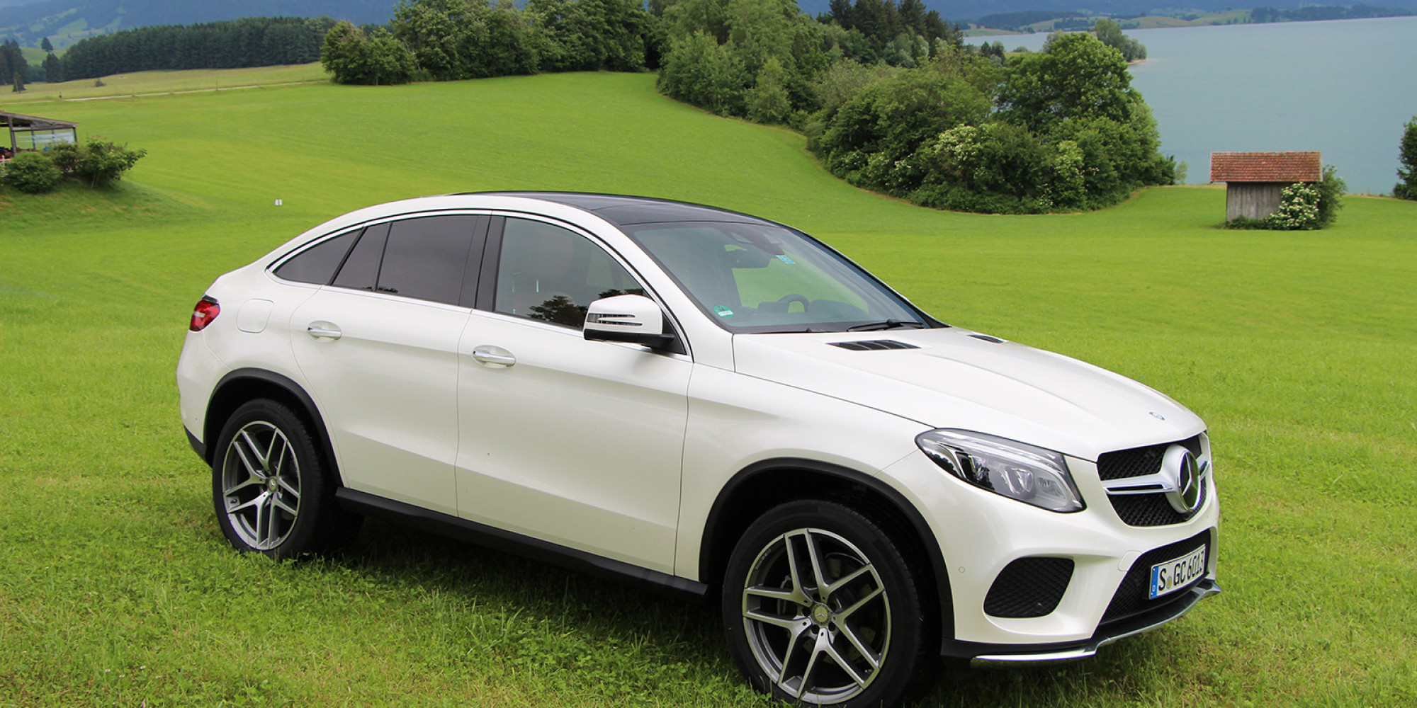 Premier contact mercedes benz gle et gle coup 2016 tout for Call mercedes benz