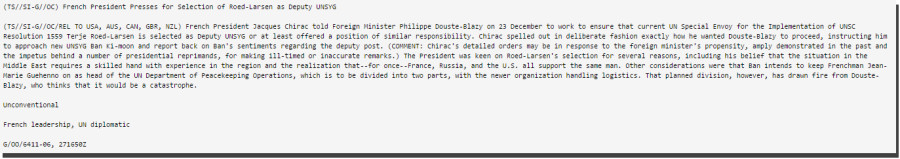 wikileaks presidents francais