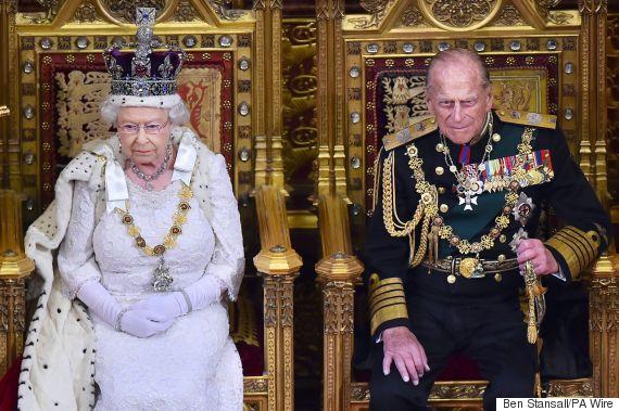 queen elizabeth throne