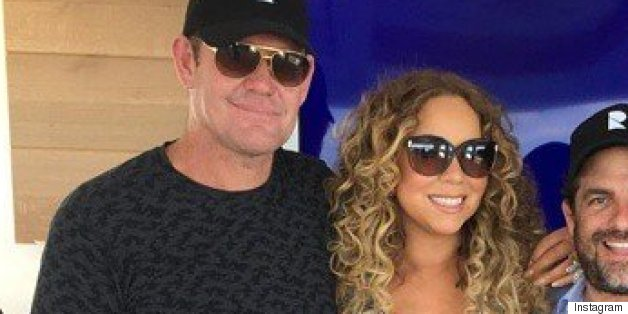 Mariah Carey Shares Photo With Rumored New Boyfriend