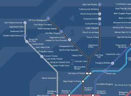 The Honest Night Tube Map Is Much More Realistic