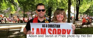 ADAM AND SARAH AT PRIDE