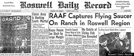 ROSWELL NEWSPAPER