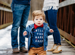 This Precious 1-Year-Old Helped His Dad Propose To His Mom