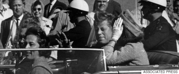 kennedy assassinated texas