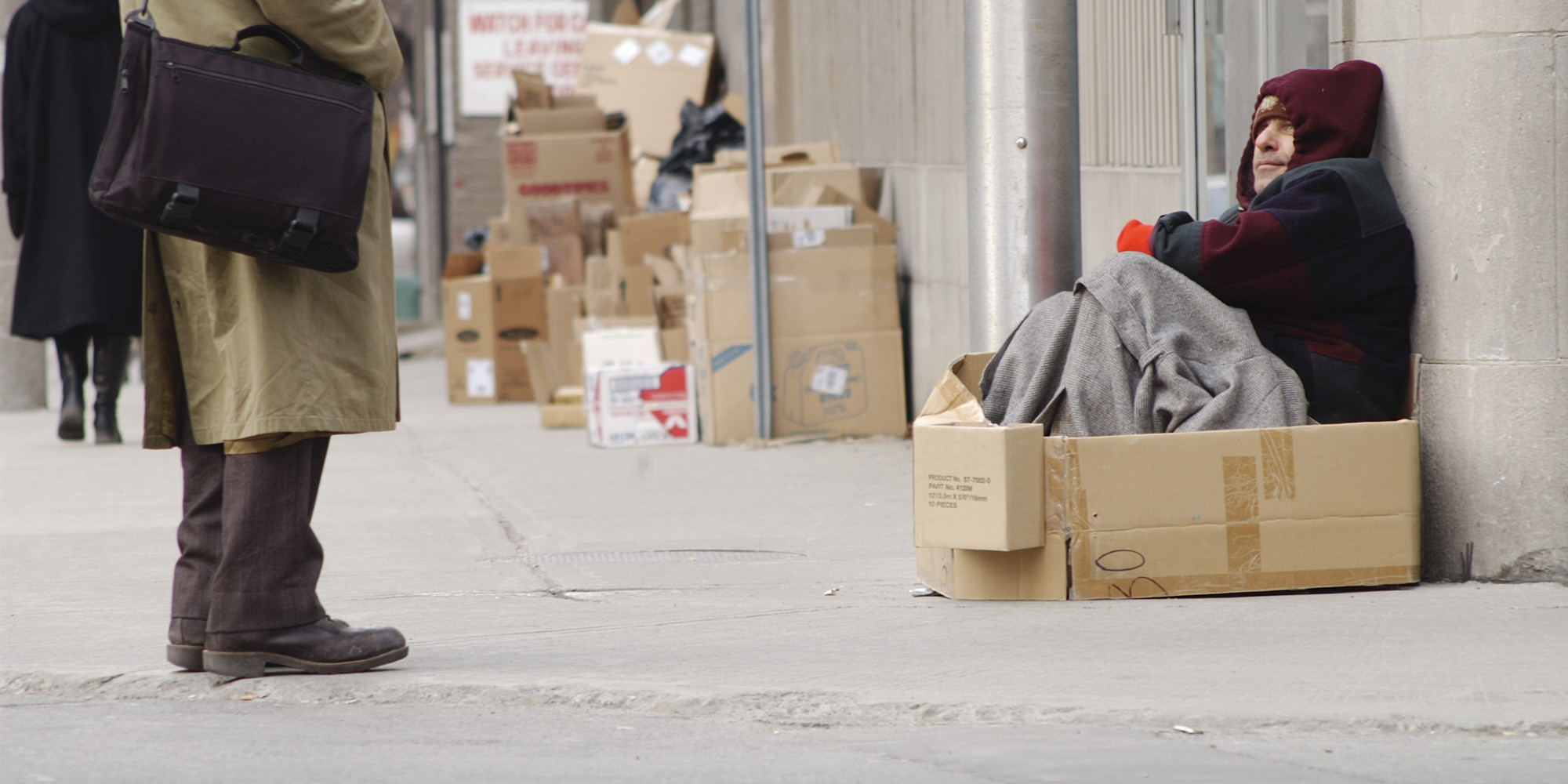 England's 'Homelessness Crisis' On The Rise, Campaigners ...