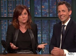 Seth Meyers And Amy Poehler Reunite For 'Really!?!'