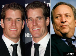Larry Summers Winklevoss Twins