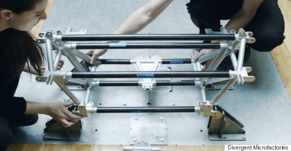 blade 3d printed car parts