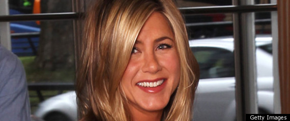 JENNIFER ANISTON AT THE HORRIBLE BOSSES LONDON PHO