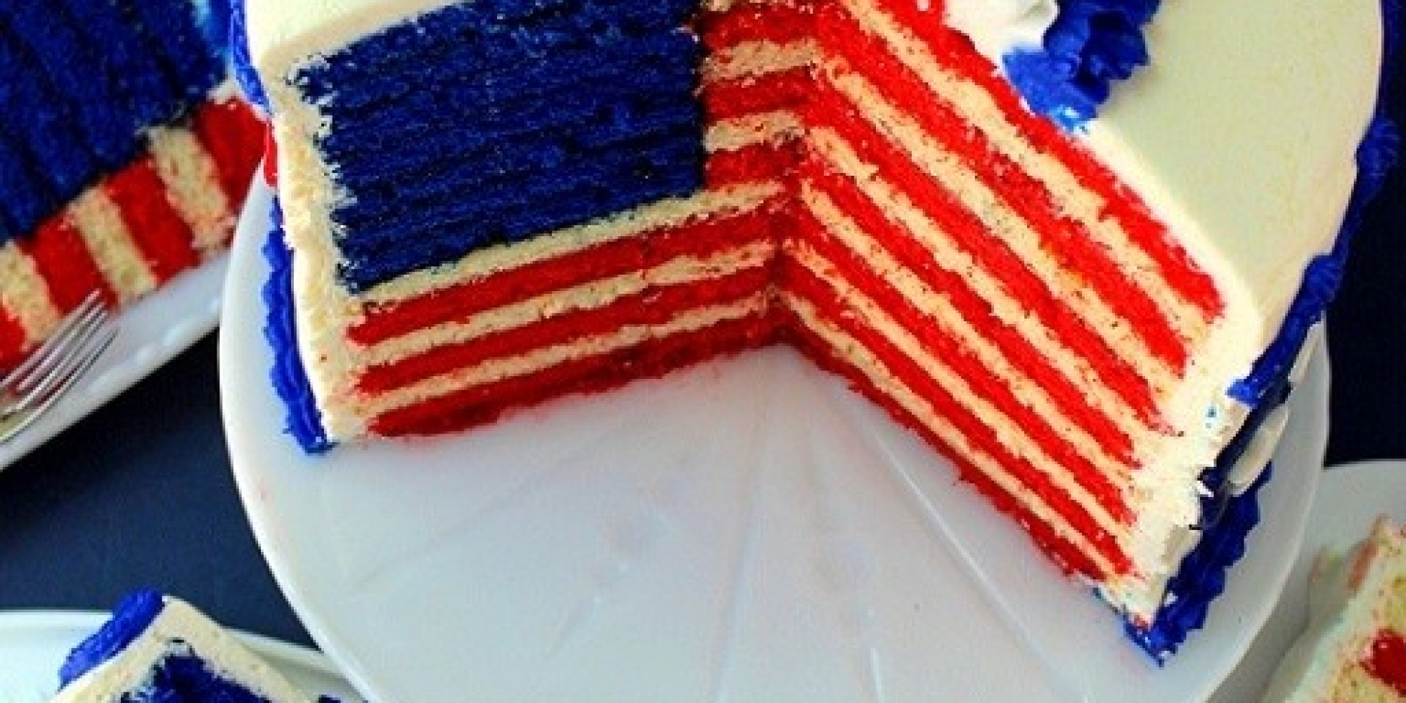 The Flag Cake Recipe To End All Flag Cakes | HuffPost