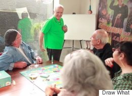 Watch Older Folks Play A Game Of 'Pictionary' Meets 'Cards Against Humanity'