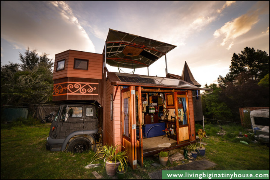 This Transforming Castle Truck Mightve Just Won The Tiny House