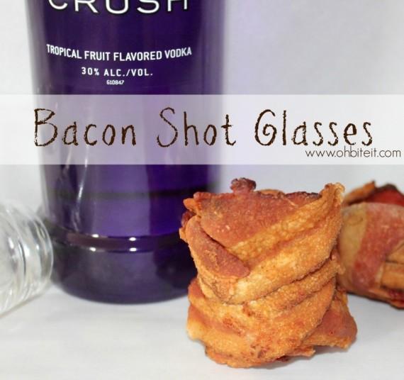 bacon shot glass