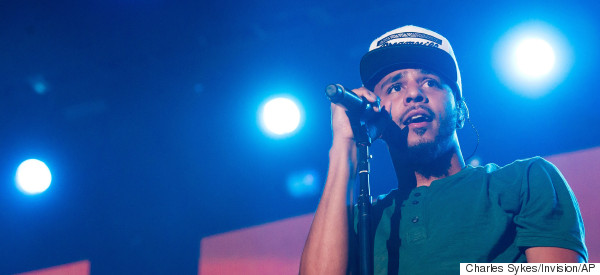 J. Cole Attends Fan's High School Graduation And Offers To Help With College Tuition