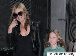 Even Supermodels Such As Kate Moss Embarrass Their Kids