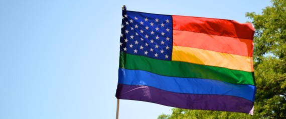 GAY FLAG USA