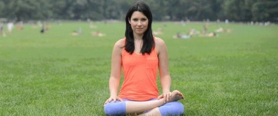 6 Yoga Poses for People Who Sit All Day from Huffpost Healthy Living [Weekly Round-Up at High-Heeled Love]