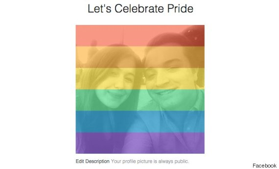 profile pictures to celebrate gay pride