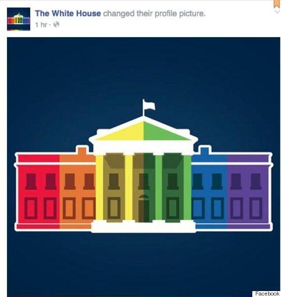 white house pride
