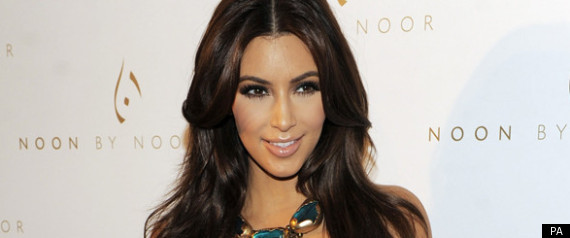 Kim Kardashian At The Noon By Noor Launch Party