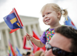 9 Love-Filled Photos Of Kids Celebrating Marriage Equality