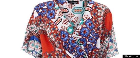 PERFECT 10 PRINTS WAREHOUSE DRESS