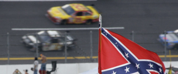 NASCAR CONFEDERATE FLAG