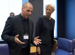 Lagarde Varoufakis