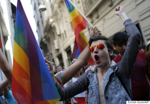 Images Istanbul Police Clear Gay Pride March With Water Cannons, Rubber Bullets 5 istanbul gay pride