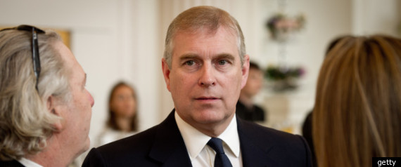 UK PRINCE ANDREW STEPS DOWN