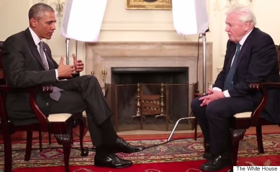 Obama Interviews David Attenborough About Climate Change