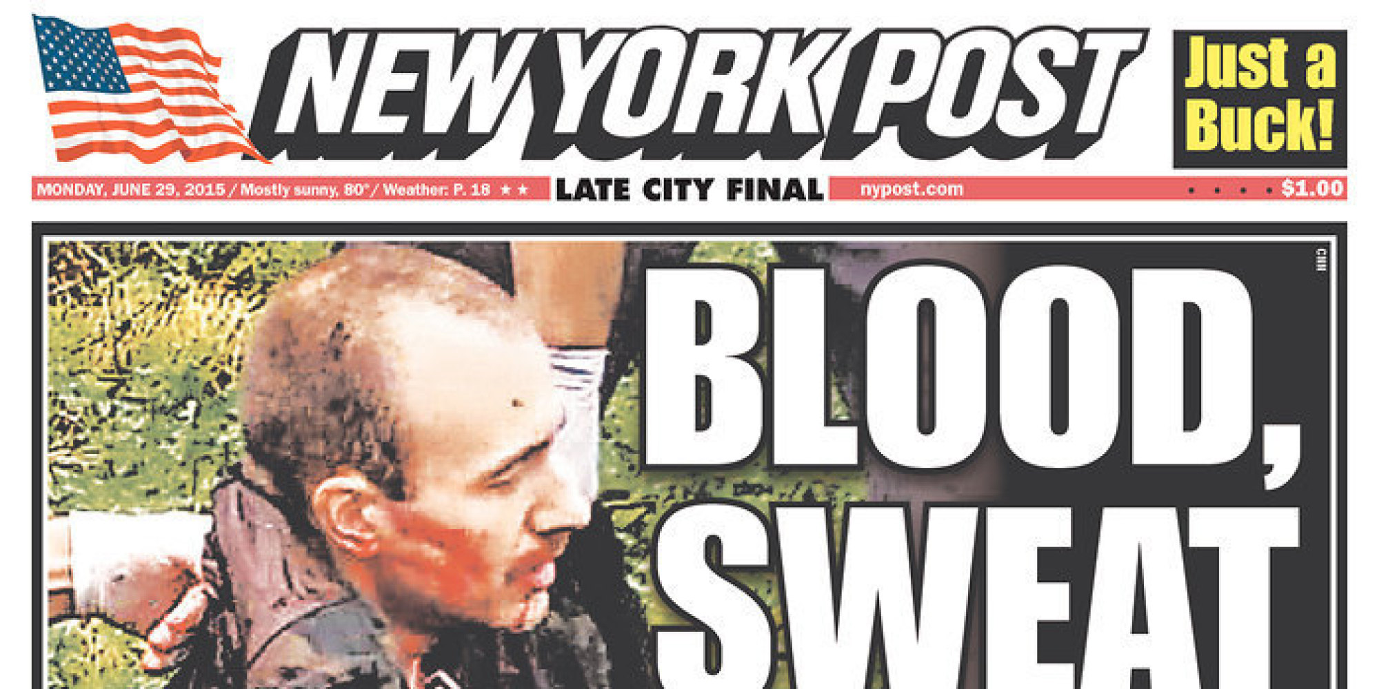New York Post, Daily News Have Identical Front Page ...