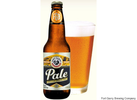 fort garry pale english amber ale
