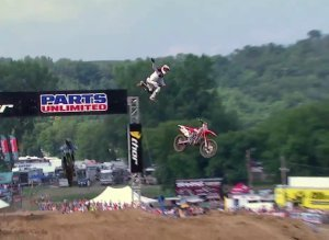 Chad Reed Crash