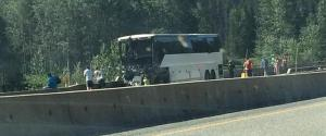 COQUIHALLA TOUR BUS CRASH