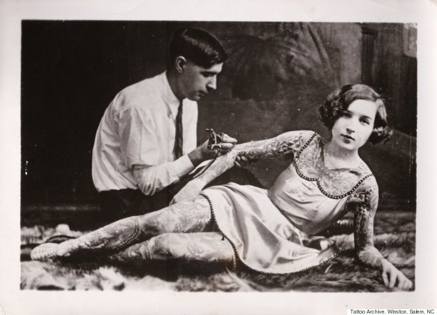 the prickly history of tattooing in america huffpost